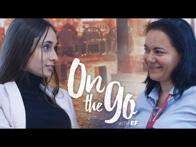 Maria Maud's French Slang Challenge – On the go with EF 23