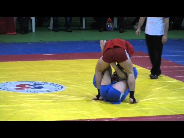 Хабиб Нурмагомедов Финал ЧМ по боевому самбо 2010 Новая лига
