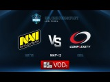 ESL One Frankfurt: Natus Vincere vs. compLexity - Game 2
