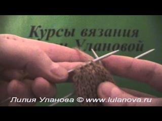 Варежки - 4 часть - Knitting mittens spokes - вязание спицами