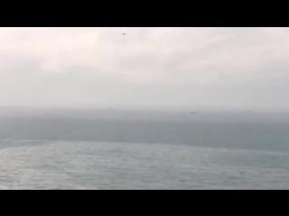 Видео с места крушения Ту-154 под Сочи