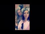 Carli Babel via Snapchat