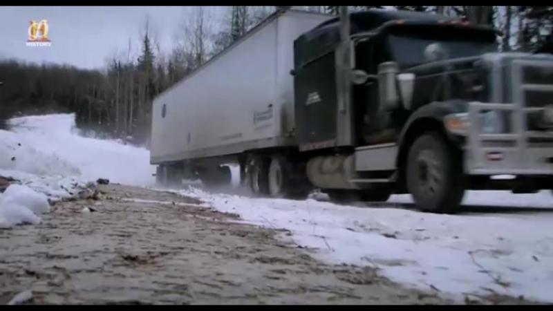 Ледовый путь дальнобойщиков 10 сезон 2 серия - Не без трудностей / Ice Road Truckers (2016)