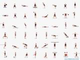 48 упражнений на все группы мышц.