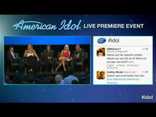 Пресс-конференция по случаю выхода 12 сезона «American Idol»