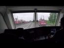 4k Fuhrerstandsmitfahrt Vectron mit Fuhrerpultperspektive von Munchen Ost nach Munchen Nord