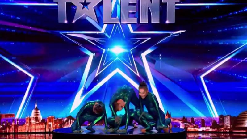 Бурятские гимнастки из цирка _Дю Солей_ на шоу _Британия ищет таланты_