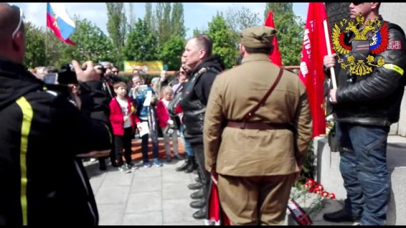 06.05.2017 - Prag Kranzniederlegung auf dem sowjetischen Friedhof