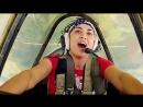 Полет на самолете ЯК-52 с элементами высшего пилотажа!