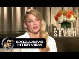 Haley Bennett Exclusive THE MAGNIFICENT SEVEN Interview (JoBlo.com)