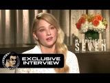 Haley Bennett Exclusive THE MAGNIFICENT SEVEN Interview (JoBlo.com)