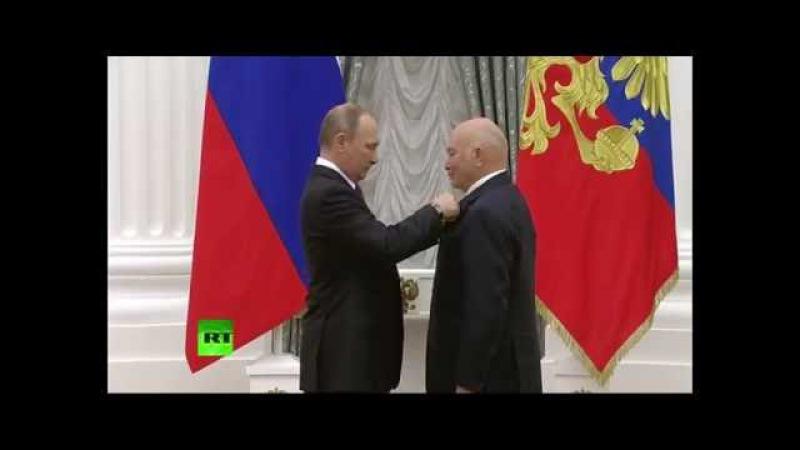 Москва в шоке Путин реабилитировал Лужкова Заслуги Орден
