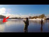 Хорош экземплярчик! Рыбалка зимой на спиннинг