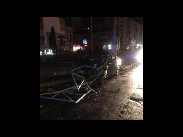 Відео ДТП біля Ощад-Банку.У Хмельницькому водій скоїв ДТП і втік.Дтп трапилось в ...