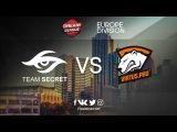 Game 1 | Team Secret vs Virtus.pro | BO2 | DreamLeague Season 7 EU Division