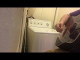 Washing drum machine
