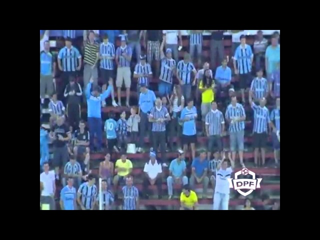 DPF: Narrador desafina em gol do Grêmio