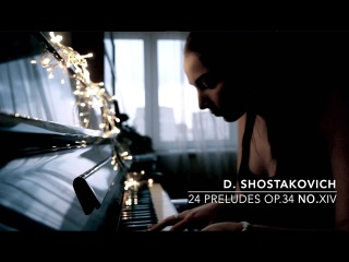 Dmitry Shostakovich 24 Preludes for piano Op.34 No.XIV