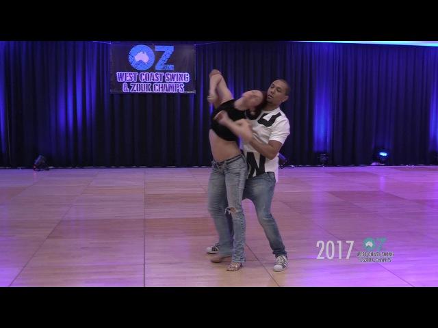 Kadu Pires Larissa Thayane - OZ WCS Zouk Champs 2017
