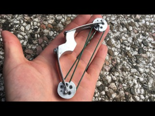 How To Make a Full Compound Micro Crossbow   Part 1