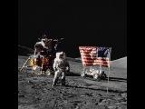 Уникальные кадры настоящей высадки американцев на Луну (без монтажа)