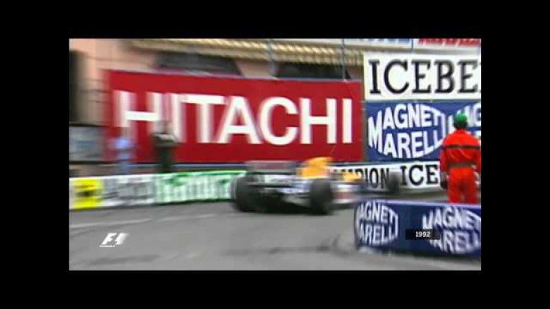 Senna v Mansell Monaco Grand Prix 1992 by magistar