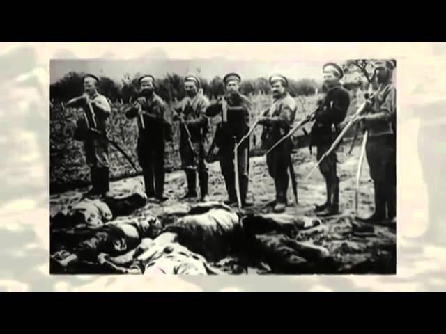Колчак убийца русского народа и холуй англо французско американо японской воен