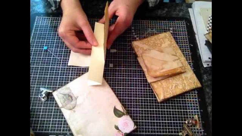 How I make my vintage journals part 1