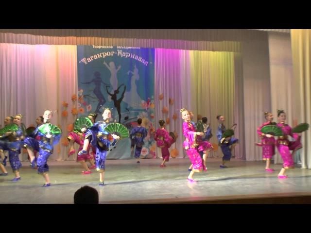 Китайский танец Полёт танцующей бабочки Ансамбль Сюрприз Майкоп
