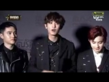 161202 EXO - Best Male Group Win Speech @ MAMA 2016