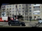 задымление(пожар) на ул.Академика Петрова 4