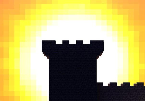 Dark Lands - карта minecraft - пародия на Dark Souls