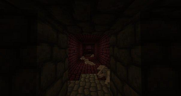 [Map] Dark Lands Финальная версия - карта minecraft - пародия на Dark Souls