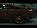 Ателье Metro Wrapz принудительно состарило BMW i8