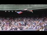 Тот потрясающий момент, когда флаг США падает  при звуках Гимна России и п