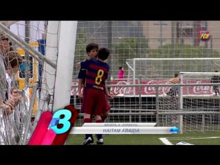 Топ-5 голов академии Барселоны (11-12 июня)
