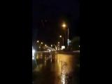 Дорожный знак замкнул электропровода (07.05.20710