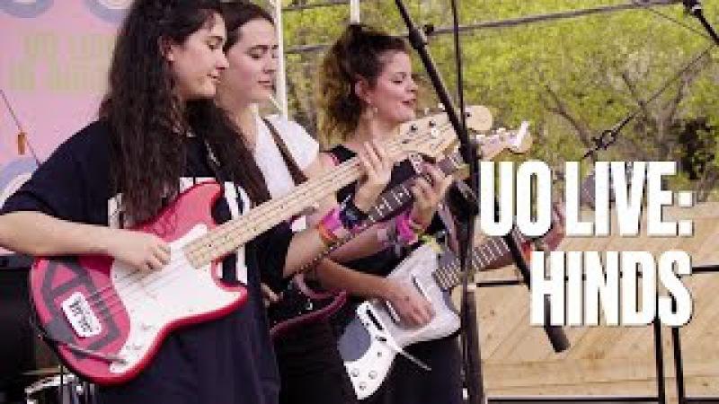 Hinds Castigadas En El Granero — UO Live