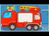 Little Fireman BabyBus Demo - PANDA BEAR FIRE FIGHTER Demo Children's Educational Cartoons