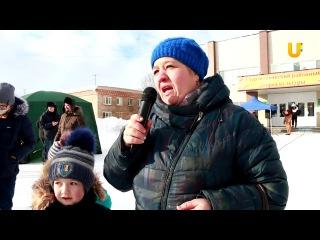 Новости UTV. Жители Загородного построили горку для поселка