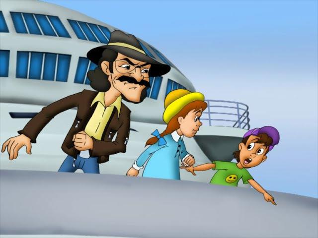 Зина Кеша и террористы 2011 мультфильм