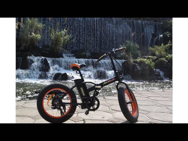 Электровелосипед (велогибрид, электровелик, электрический велосипед) Фэтбайк (Fatbike) Eco Drive V5 500W
