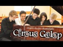 Circus Galop for 10 hands, arranged by James Cozens