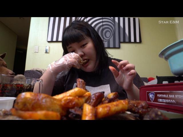Yang soo bin)쪽갈비를 뜯어보자!!Barbecued pork ribs eating!!