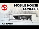 Mobile House Concept | Daily Architecture Drawings 45