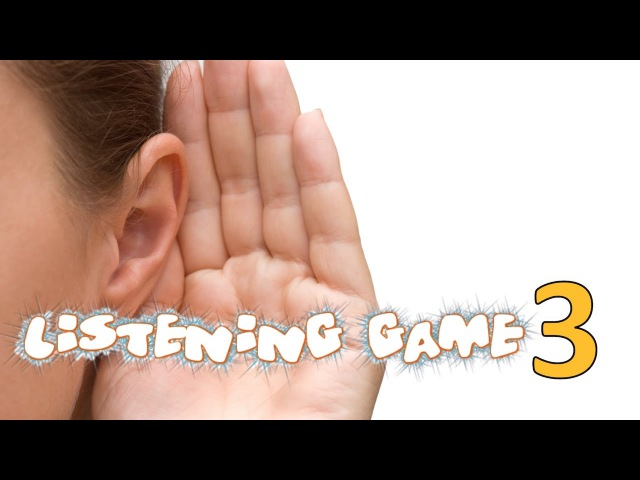 Listening Game 3 - Phase 1 Phonics - Listening and Attention Skills