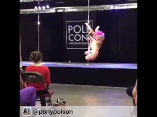 POLE DANCING T-REX