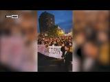 В Сербии набирают обороты протесты против итогов президентских выборов