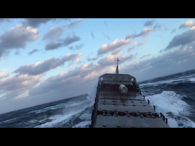 Tanker Ship in Extreme Storm 12 points