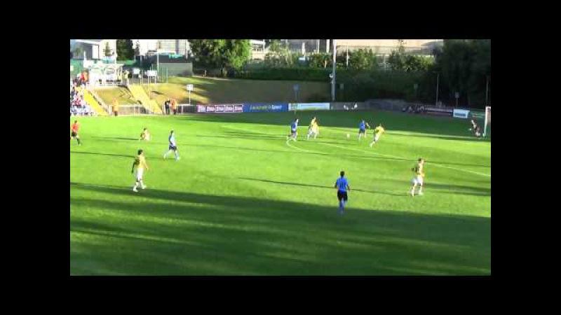 Ryan Swan goal v's F91 Dudelange